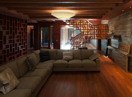 Дизайн интерьера подвального этажа