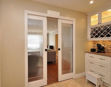 Двери на кухне