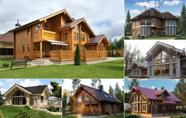 Проекты домов из клееного бруса - слайд №2