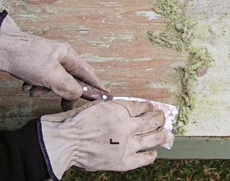 Химическая очистка краски