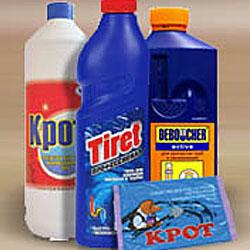 Химические средства чистки унитаза