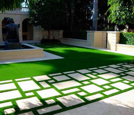 Искусственный газон и ландшафтный дизайн
