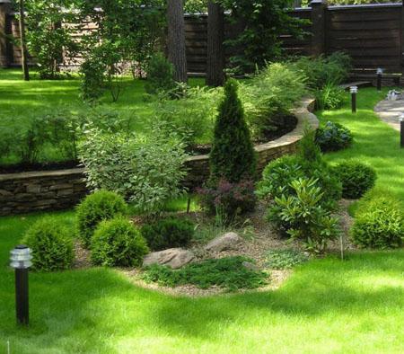 Ландшафтный дизайн озеленение и посев