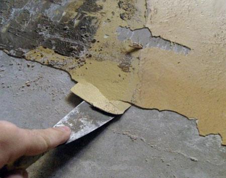 Механическая очистка краски