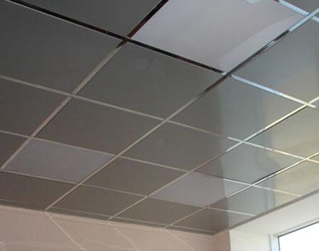 Металлическая основа потолка