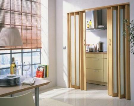 Сдвижные двери гармошкой