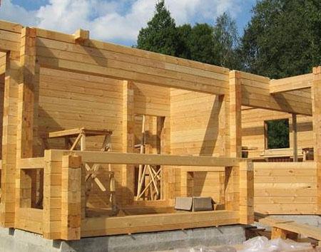 Строительство из клееного бруса