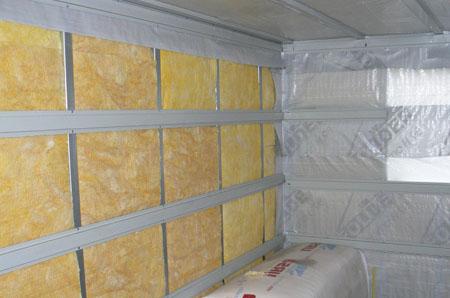 Термоизоляция стен бани
