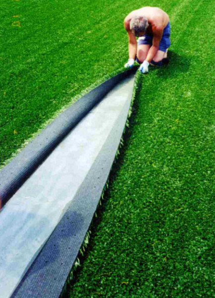 Укладка искусственного газона своими руками
