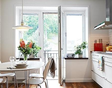 Замена окон на кухне