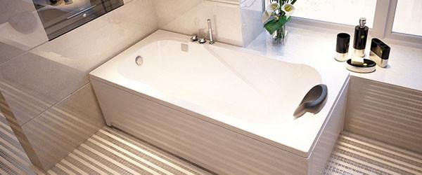 Акриловый вкладыш в ванной