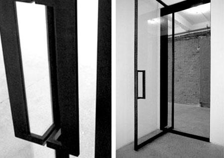 Дверная коробка для стеклянной двери