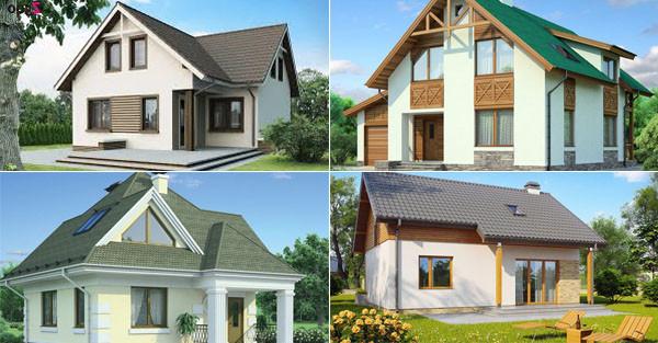 Проекты готовых домов из пеноблоков