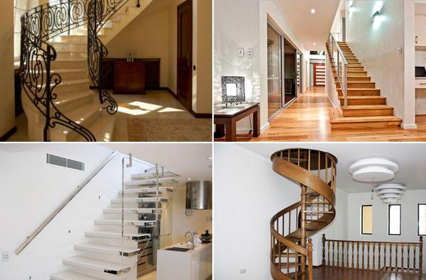 Виды материалов для лестниц