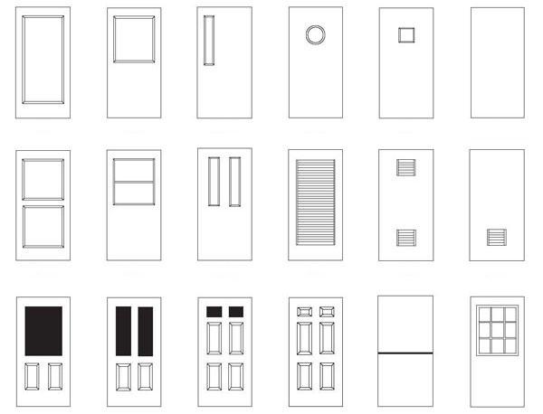 Виды и устройство дверей