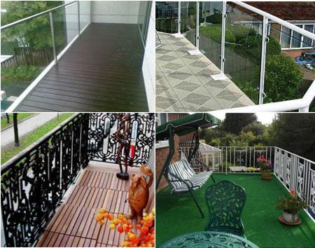 Выбор напольного покрытия для балкона