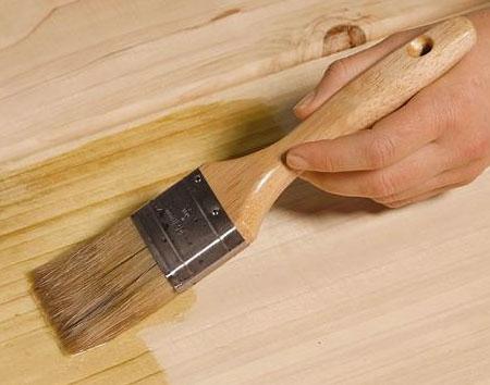 Состав для обработки древесины