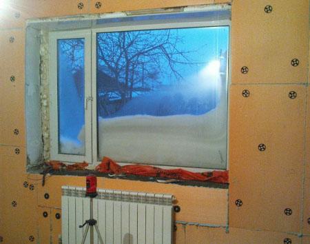 Утепление квартиры изнутри